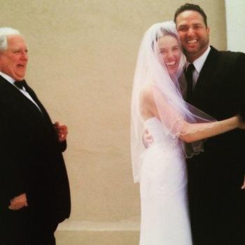 Steph's wedding day