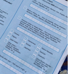 Picture of the 2020 census form